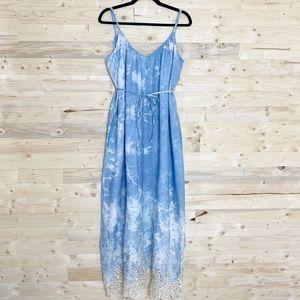 Revolve   Line & Dot Muse Maxi Dress Tie Dye NWT